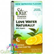 Stur Stevia Sweetened Powder Drink Mix, Lemon Iced Tea