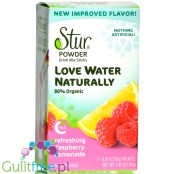 Stur Stevia Sweetened Powder Drink Mix, Raspberry Lemonade