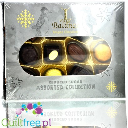 Assorted Collection Finest Belgian Chocolates No Sugar Added