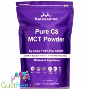 Ketosource Pure C8 MCT Powder, Unflavored 0,45kg