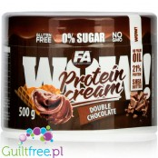 Wellness Line WOW! Protein Cream 500 g Double Chocolate