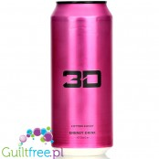 3D Pink - Cotton Candy sugar free energy drink