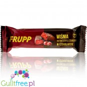 Frupp Chery in Chocolate 70%, 93kcal - freeze-dried cherry bar covered in dark chocolate