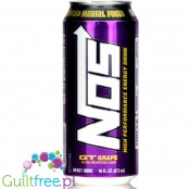 Monster NOS GT Grape High Performance Energy Drink - napój energetyczny z USA
