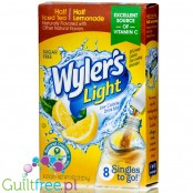 Wyler's Light Half &Half Iced Tea Lemonade Singles To Go - saszetki Lemonade & Ice Tea bez cukru