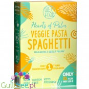 DIET FOOD palm heart pasta 21kcal, Spaghetti, 400g can