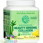 Sunwarrior Beauty Greens Collagen Booster Pina Colada (300g)