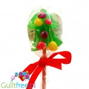 Santini Christmas Tree sugar free lollipop with xylitol
