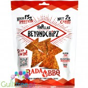 BeyondChipz Tortillas High Protein Tortilla Chips, Bada BBQ 5.3 oz