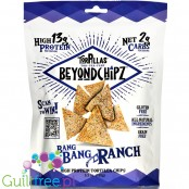 BeyondChipz Tortillas High Protein Tortilla Chips, Bang Bang Ranch 5.3 oz