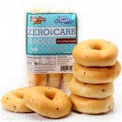 ThinSlim Foods Love the Taste Zero Carb Bagels, Everything Spice 12 oz. (6 Bagels)