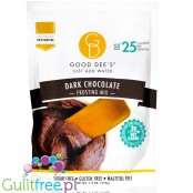 Good Dee's, Frosting Mix, Dark Chocolate 7.8 oz