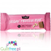 GymQueen Fluffy Vegan Protein Bar, Chocolate Cashew