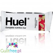 HuelⓇ Bar White Chocolate & Raspberry vegan meal substitute bar with vitamins and minerals