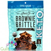 Sheila G's Brownie Brittle Keto Brownie Brittle, Chocolate Chip -