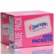 Sweet'n Low Granulated Sweetener 1000 Sachets