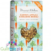 Primrose's Kitchen Organic Raw Carrot, Apple & Cinnamon Muesli