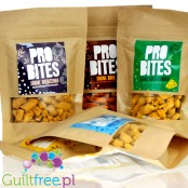 ProBites Sample Mixed Flavors vegan protein snack 30% plant protein