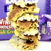 Battle Bites Winter Wonderland Irish Cream protein bar, winter 2020 limited edition