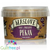 Maslove Pecan Nut Butter 100% smooth baked pecan spread