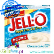 Jell-O low fat sugar free pudding, Cheesecake flavor