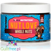 NutLove WholeNuts - almond covered with no added sugar dark chocolate