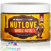 NutLove WholeNuts - almond covered with no added sugar milk chocolate