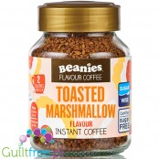 Beanies Sticky Toasted Marshmallow instant flavored coffee 2kcal pe cup
