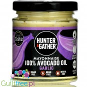 Hunter & Gather Garlic Avocado Mayo, 80% Avocado Oil Mayonnaise