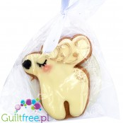 Santini Xmas Reindeer - sugar free gingerbread cookie with xylitol
