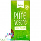 Xucker Pure Vegane - vegan dark chocolate with xylitol, hazelnuts and almonds