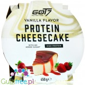 Got7 Protein Cheesecake, Vanilla 0,45KG - ready to eat homemade style cake