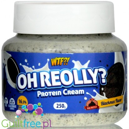 Max Protein WTF Oh Re-Olly? - What The Fudge - Protein Cream Cookies & Cream