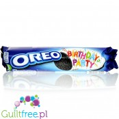 Oreo® Birthday Party (CHEAT MEAL) Sandwich Biscuits with a Mint Flavour Filling