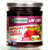 Damhert Low Carb Raspberry - no added sugar fruit spread