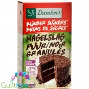 Damhert Chocolate Sprinkles - no added sugardark chocolate ccake decorating granules