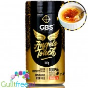 GBS Angel's Touch instant flavored coffee with caffeine boost, Peanut Butter