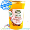 Hartley's 10kcal Mango & Passion Fruit Flavor Jelly - Jelly 10kcal from passion fruit