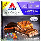 Atkins Endulge Chocolate Caramel Fudge BOX