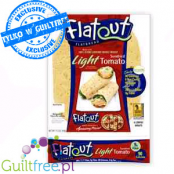 Flatout bread Light Sundried Tomato wraps made of 100% Stone Ground Whole Wheat