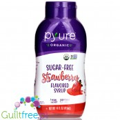 Pyure Sugar Free Syrup, Chocolate Strawberry - low calorie syrup with fiber