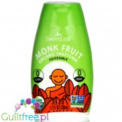SweetLeaf Monk Fruit Squeezable Sweetener, Organic, Clear 1.7 fl oz. (50 ml)