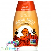 SweetLeaf Monk Fruit Squeezable Sweetener, Organic, Caramel Macchiato 1.7 fl oz. (50 ml)