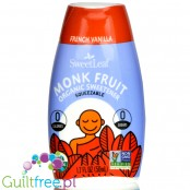 SweetLeaf Monk Fruit Squeezable Sweetener, Organic, French Vanilla 1.7 fl oz. (50 ml)