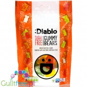 Diablo Stevia Gummy Bears - sugar free jelly bears