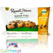 Russell Stover Stevia Semi-Sweet Chocolate Chips, sugar free semi-sweet chocolate baking chips