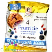 Vicenzi Fruttizie Forest Fruit & Goji -sugar free wholemeal shortbread cookies with fruits 40g