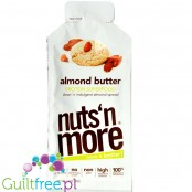 Nuts 'n More Almond Butter with xylitol & WPI, squeeze tub