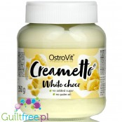 Ostrovit Creametto White - no added sugar white chocolate spread