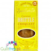 Sweetsmith Candy Co. Sugar Free Coconut Brittle Croquant 2 oz. (56.7g)